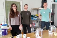 tea and coffee student volunteers 2 - The Sunday Centre - 19-March-2017