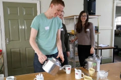 tea and coffee student volunteers - The Sunday Centre - 19-March-2017